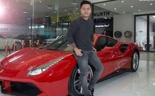 Thú chơi xe - Siêu xe Ferrari 488 GTB 16 tỷ đồng của Tuấn Hưng gặp nạn