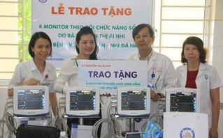 Chính trị - Xã hội - Đà Nẵng: Bệnh viện tiếp nhận tài trợ 5 máy theo dõi chức năng sống
