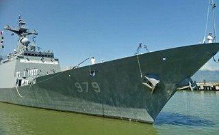 Chính trị - Xã hội - Chiến hạm Hàn Quốc cập cảng Tiên Sa, thăm hữu nghị Đà Nẵng