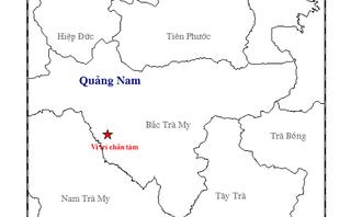 Chính trị - Xã hội - Tiếp tục xảy ra động đất ở Quảng Nam