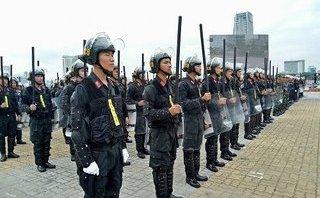 Tin tức - Chính trị - Chùm ảnh: Tổng diễn tập phương án bảo vệ APEC 2017