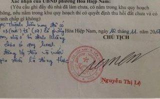 Tin nhanh - Làm rõ vụ cán bộ giả chữ ký Chủ tịch phường hợp thức nhà trái phép