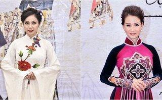 Giải trí - Diễn viên Việt Trinh, Hoa hậu Sương Đặng đẹp mặn mà trong trang phục áo dài