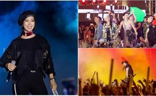 """Giải trí - Đại nhạc hội """"Young Music"""": Bữa tiệc của âm nhạc và ánh sáng"""