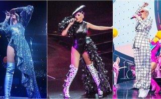 Giải trí - Katy Perry diện ba thiết kế của Công Trí trong tour diễn thế giới