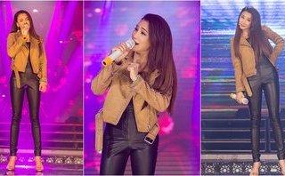 Giải trí - Hồ Quỳnh Hương diện đồ bó, nhảy cực sung trên sân khấu