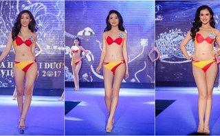 Giải trí - Thí sinh Hoa hậu Đại dương Việt Nam 2017 nóng bỏng với bikini