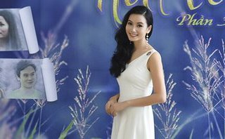 Giải trí - Diễn viên Lương Giang xinh đẹp hút hồn trong buổi ra mắt phim mới
