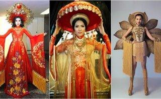 Giải trí - Những bộ quốc phục ấn tượng của đại diện Việt Nam tại đấu trường sắc đẹp quốc tế