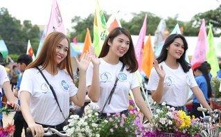Giải trí - Người đẹp Hoa hậu Đại dương diễu hành kêu gọi bảo vệ môi trường