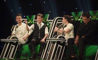 """TV Show - Nhạc sĩ Minh Vy bối rối khi bị Mr Đàm """"cưỡng hôn"""" trước mặt vợ"""