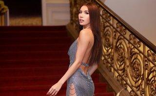 Ngôi sao - Minh Tú siêu sexy khi diện váy khoét cổ sâu, cut-out táo bạo