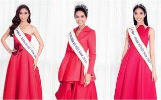 Sự kiện - Dàn Hoa hậu, Á hậu Hoàn vũ đua sắc cùng tông đỏ