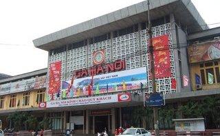 Văn hoá - Hà Thành kim cổ ký: 94 năm trước báo chí đã kiến nghị di dời ga Hà Nội