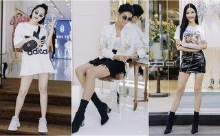 Sự kiện - Dàn mỹ nhân Việt tất bật thử đồ dự Tuần lễ thời trang quốc tế Việt Nam