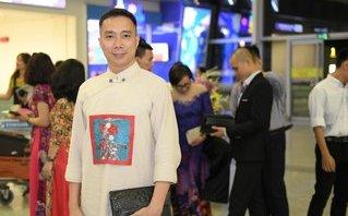 Sự kiện - NTK Đỗ Trịnh Hoài Nam tiếp tục mang áo dài lên đường tới LHP Cannes