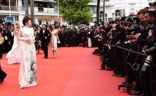 Ngôi sao - Áo dài Việt Nam tạo ấn tượng mạnh ở Cannes 2018
