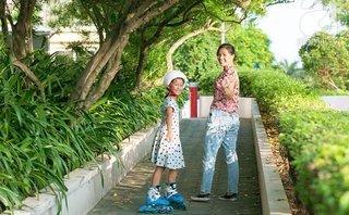 Đời sống - Mẹ bé gái 7 tuổi thông thạo cả tiếng Anh, tiếng Pháp: Dinh dưỡng rất quan trọng