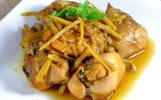 Đời sống - Món ngon mỗi ngày: Vào bếp trổ tài với món gà rang gừng