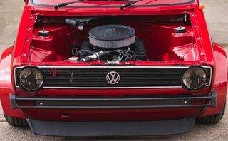 Xe++ - 'Lột xác' Volkswagen Golf MK1 1983 ngoạn mục bằng động cơ V8