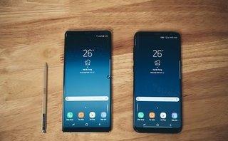 Công nghệ - Samsung phủ nhận việc Galaxy Note 8 bị 'tố' viền màn hình hở sáng