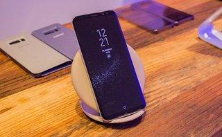 Công nghệ - Galaxy S8 và S8 Plus lại vướng lỗi với sạc không dây