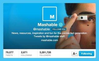 Công nghệ - Mashable bị đồn sẽ được bán với giá 50 triệu USD