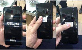 Sản phẩm - Galaxy S9 lộ ảnh thật, được cầm trên tay