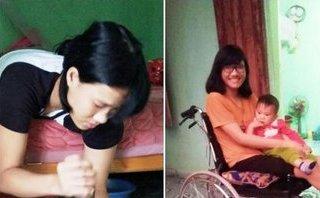 Cộng đồng mạng - Bật khóc chuyện người phụ nữ liệt hai chân vẫn quyết sinh con