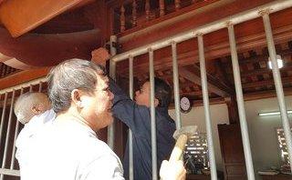 Văn hoá - Khẩn trương lập hàng rào chắn tại các điểm phát ấn đền Trần