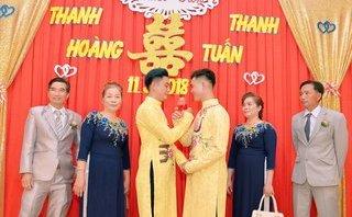 Cộng đồng mạng - Đám cưới của cặp đôi đồng tính điển trai ở Đồng Tháp 'dậy sóng' mạng xã hội