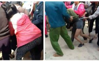 Cộng đồng mạng - Xôn xao clip người phụ nữ đánh ghen, lột quần tình địch giữa đường