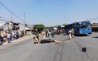 Tin nhanh - Rẽ phải, xe đầu kéo tông trúng xe máy khiến một người tử vong