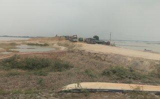 Môi trường - Tây Ninh: Khai thác cát ồ ạt, người dân than trời