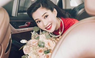 Giải trí - Hoa hậu Đặng Thu Thảo là cô dâu xinh đẹp nhất hôm nay