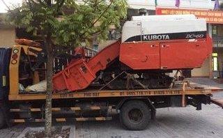 Pháp luật - Thuê xe cứu hộ chở máy gặt trộm cắp từ Thanh Hóa về Hải Dương
