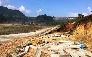 Xã hội - Thanh Hóa: Cận cảnh hồ chứa nước Cửa Đạt đang bị sạt lở nghiêm trọng