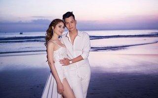 Giải trí - Lâm Khánh Chi hé lộ về váy cưới dài 5m độc nhất