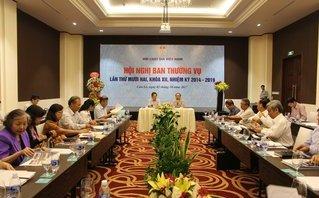 Tin tức - Chính trị - Hội nghị Ban Thường vụ Trung ương Hội Luật gia Việt Nam lần thứ 12