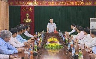 Chính trị - Tổng Bí thư Nguyễn Phú Trọng thăm và làm việc tại Nghệ An