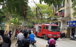 Tin nhanh - Cháy chung cư  5 tầng  ở TP Vinh, hàng trăm người hoảng hốt bỏ chạy