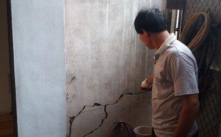 Môi trường - Nghệ An: Nhà nứt, nguy cơ đổ sụp đe dọa tính mạng người dân