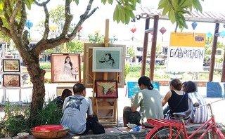 Đời sống - Cùng ngắm Góc nhỏ Hội An qua bàn tay tài hoa của các họa sĩ