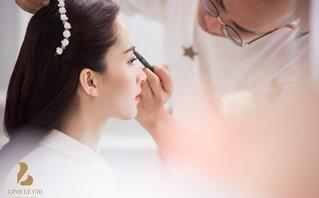 Giải trí - Tiết lộ hậu trường lung linh đám hỏi Hoa hậu Thu Thảo và đại gia Trung Tín