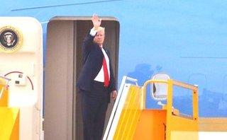 Xã hội - Tổng thống Trump lên máy bay rời Đà Nẵng
