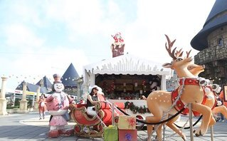 Xã hội - Đà Nẵng: Tràn ngập mùa lễ hội cuối năm