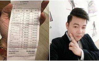Xã hội - Ê kíp Quang Lê tố bị 'chặt chém' 25 triệu đồng tiền ăn khuya