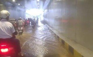 Tin nhanh - Hầm chui trăm tỷ ngập nước: Không ảnh hưởng chất lượng kết cấu?