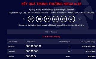 Tiêu dùng & Dư luận - Vietlott Mega ngày 2/8: Jackpot tích lũy đã lên tới 35 tỉ đồng