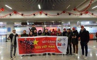 Bóng đá Việt Nam - Cổ động viên U23 Việt Nam tại Thường Châu: Mong tuyết ngừng rơi!